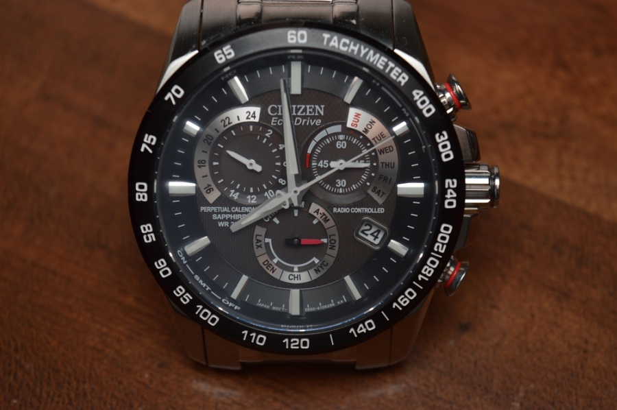 The Citizen Perpetual Chromo A.T. is always accurate and always powered.