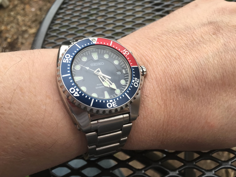 Seiko Kinetic Divers 200M SKA369P1 Watch - DownUnderWatches