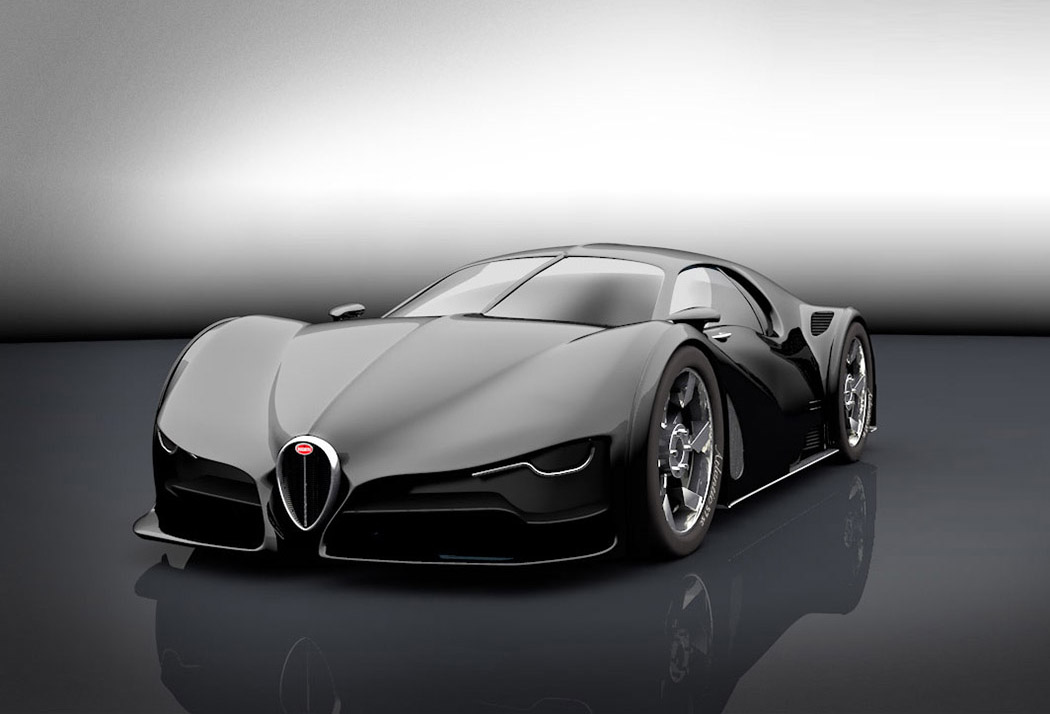 a bugatti concept  u2013 lost in mobile