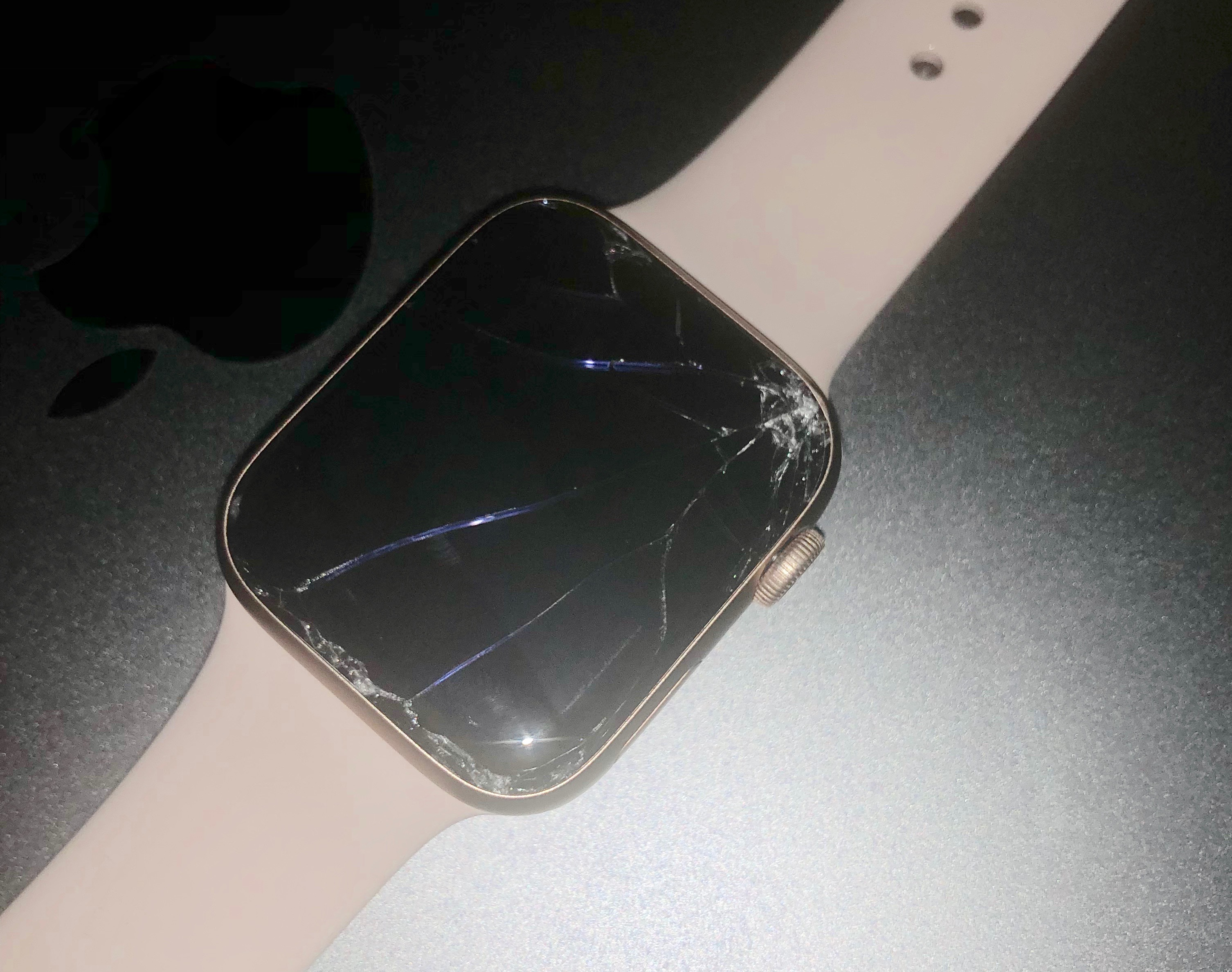 Drop your Apple Watch from 2 feet and the screen smashes